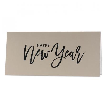 "Carte de vœux ""Happy New Year"""