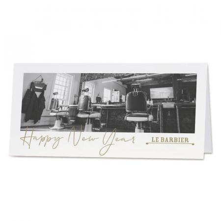 "Carte sur mesure photo ""happy new year"""