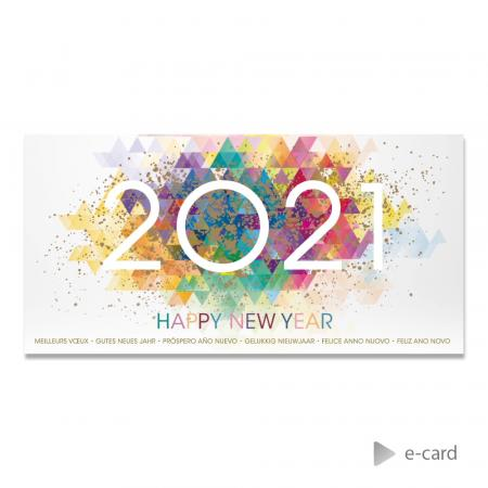 E-card 2021 in colors