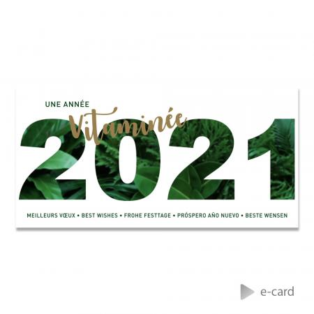 E-card 2021 motif jungle