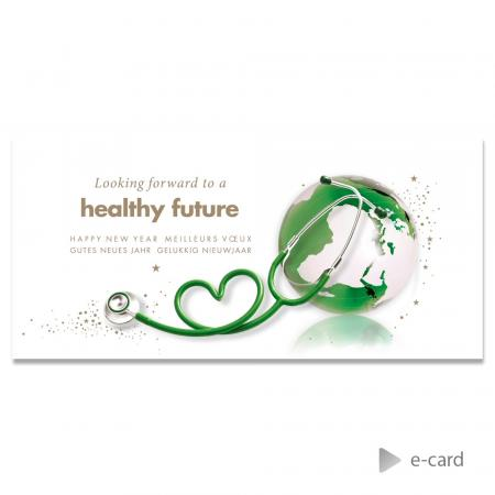 E-card looking forward to a healthy future