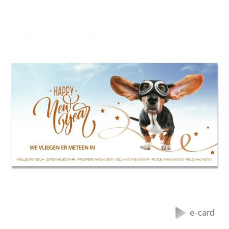 E-card with a funny dog